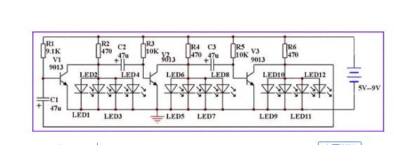 LED显示屏灯珠连接方式